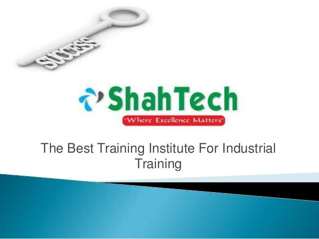The Best Training Institute For Industrial Training