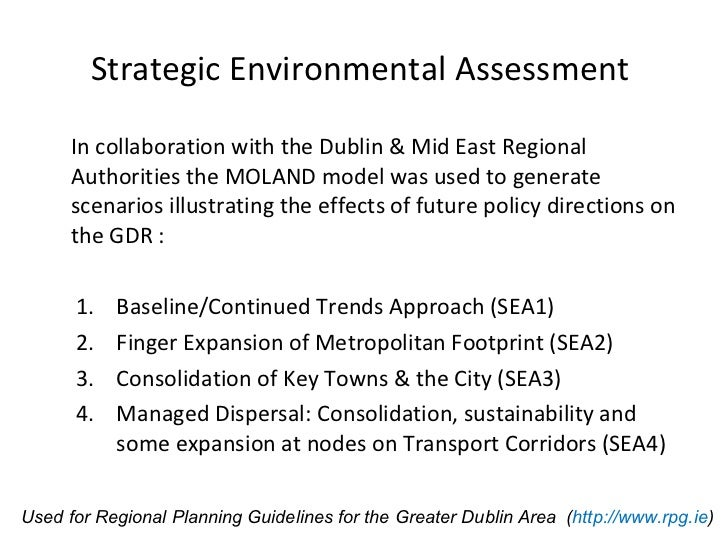 Urban Development Scenarios and Probability Mapping for ...