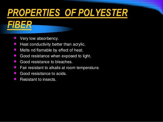 Properties Of Textile Fibers