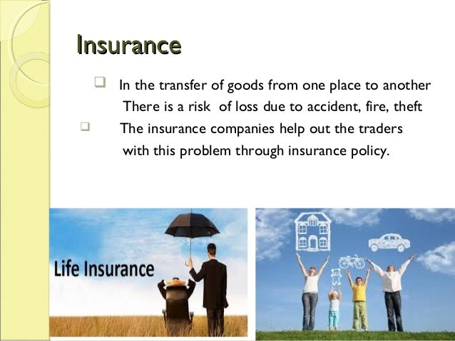 Traders Insurance Policy >> Types of trade and aid to trade