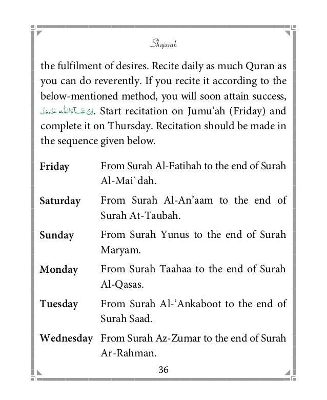 Islamic Book in English: Shajarah attariyah qadriya razawiyya