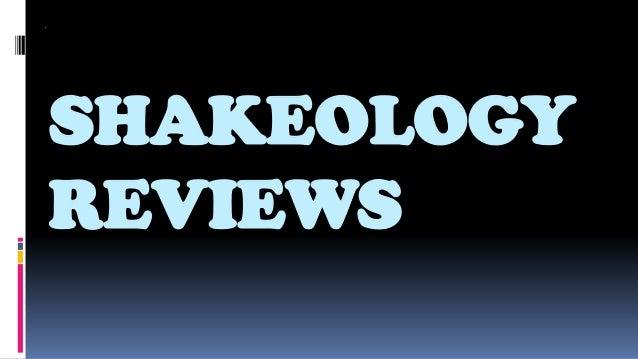 SHAKEOLOGYREVIEWS