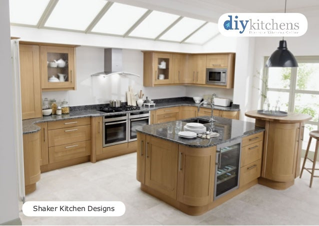 Shaker Kitchen Designs Ideas - DIY Kitchens