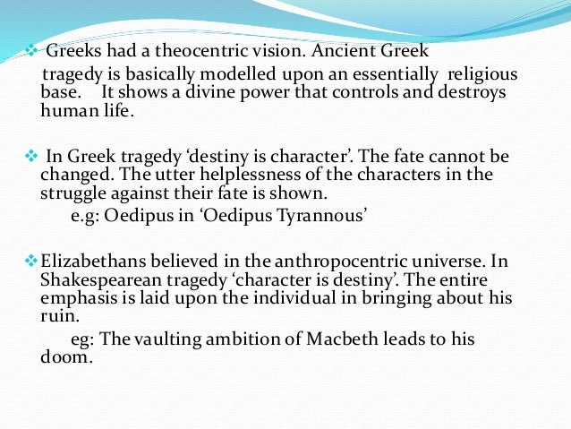 The Purpose of Comedy & Tragedy in Greek Drama