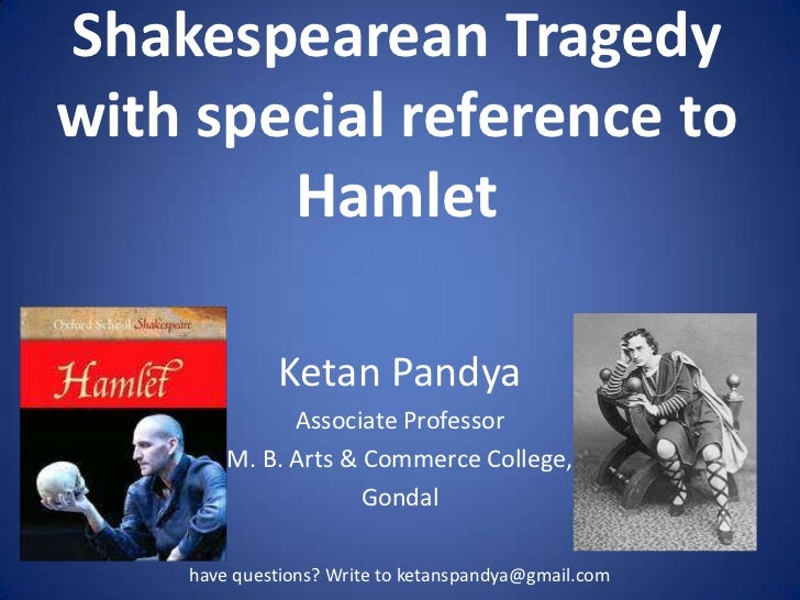 perception tragic hero hamlet
