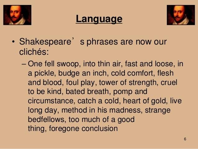 Shakespeare language powerpoint