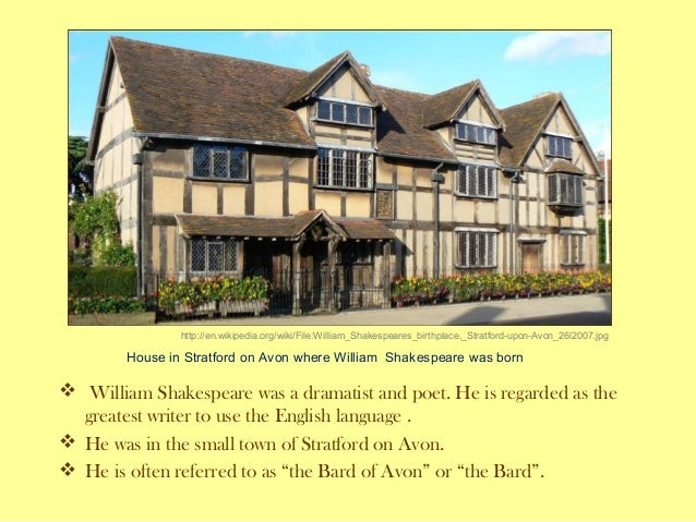 Shakespeare, life and work.