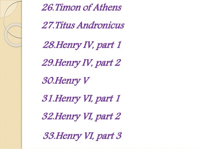 an analysis of the presentation of henry v by william shakespeare A focussed description of william shakespeare'slife- authorstream presentation  ppt on william shakespeare  king henry iv part i, part ii 1597-98 henry v.