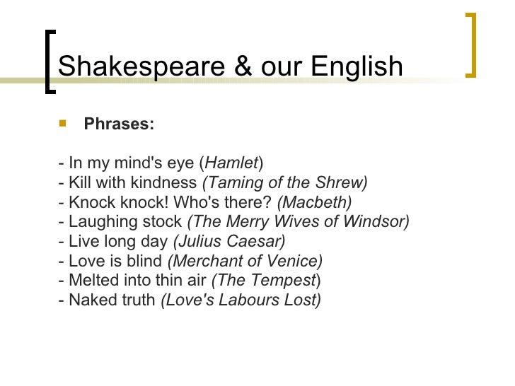 shakespeare and the english language pdf