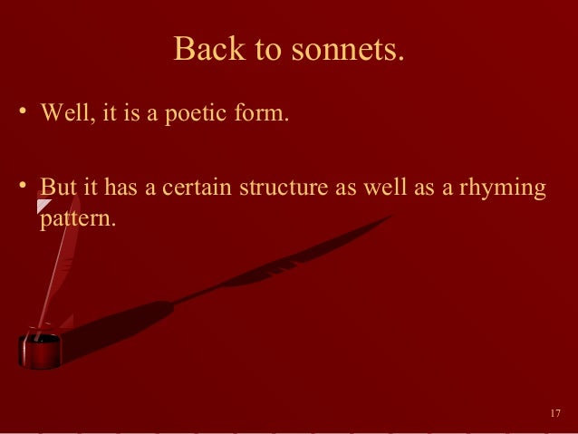 shakespeare sonnet 17
