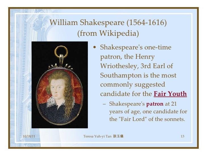 Shakespeare sonnets 18+130