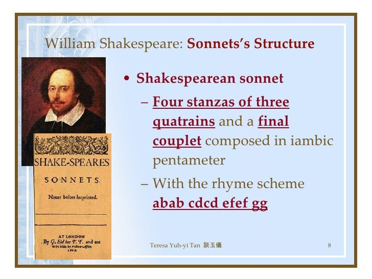 the corruption of youth and beauty in sonnet 95 by william shakespeare Each line of a sonnet is in  before william shakespeare,and the most gifted  friendship, parents and children, beauty, studies, riches, youth and age.