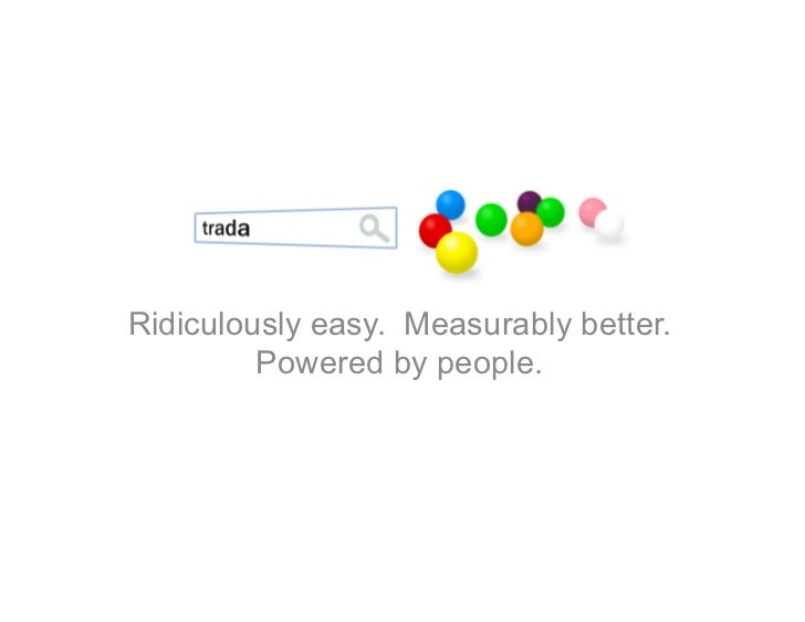Ridiculously easy. Measurably better.          Powered by people.