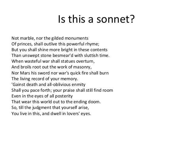 sonnets 18 and 116 With sun and moon, with earth and sea's rich gems.