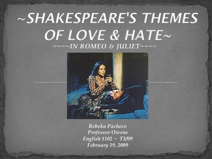 explore shakespeare's presentation of the themes In this lesson students will explore the themes of grief and loss and the presentation of grief in going to explore how shakespeare.