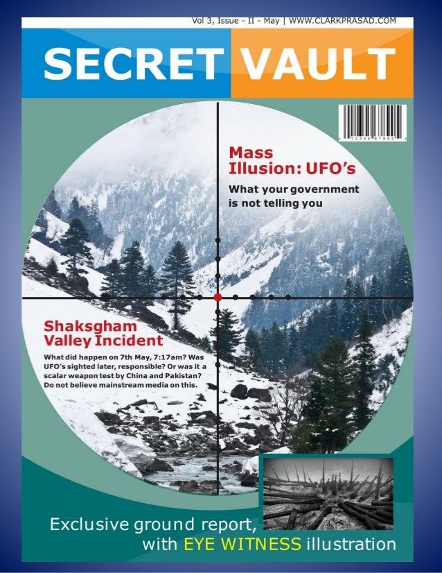 Secret Vault Vol 3, Issue II – May  www.clarkprasad.com Svastik Trilogy: Conspiracy Files