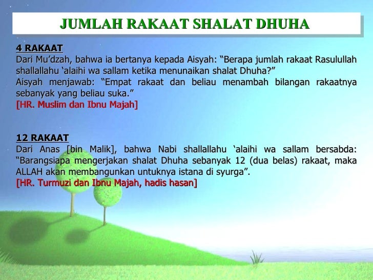 Image Result For Niat Sholat Dhuha