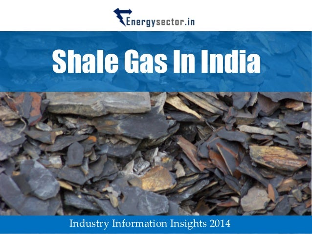 Shale Gas In India  Industry Information Insights 2014