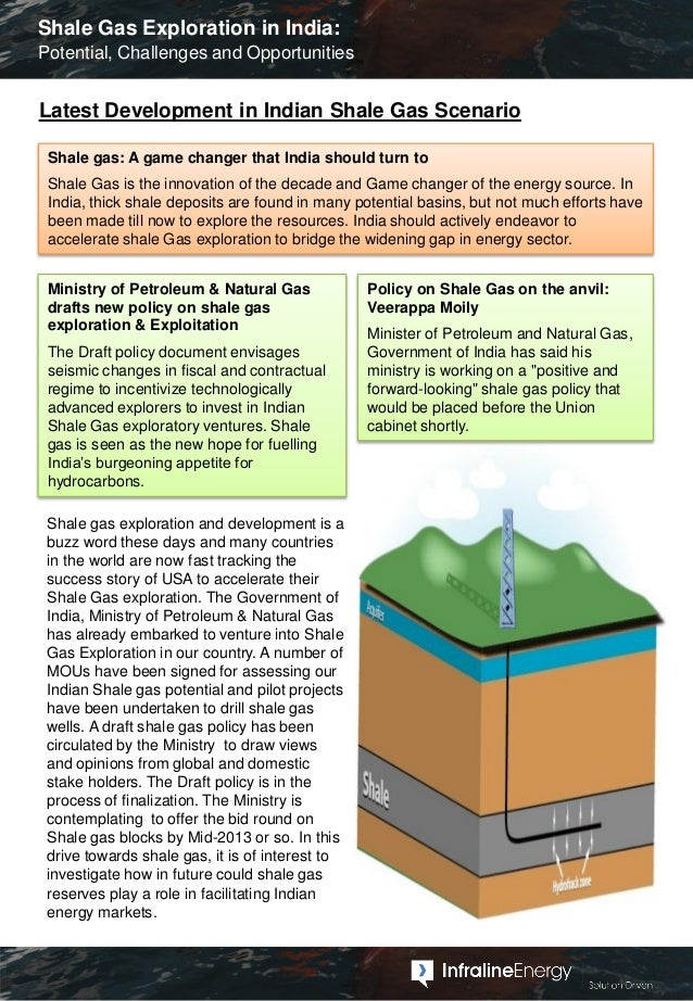 Shale Gas Exploration in India - Potential, Challenges and Opportunities Slide 2