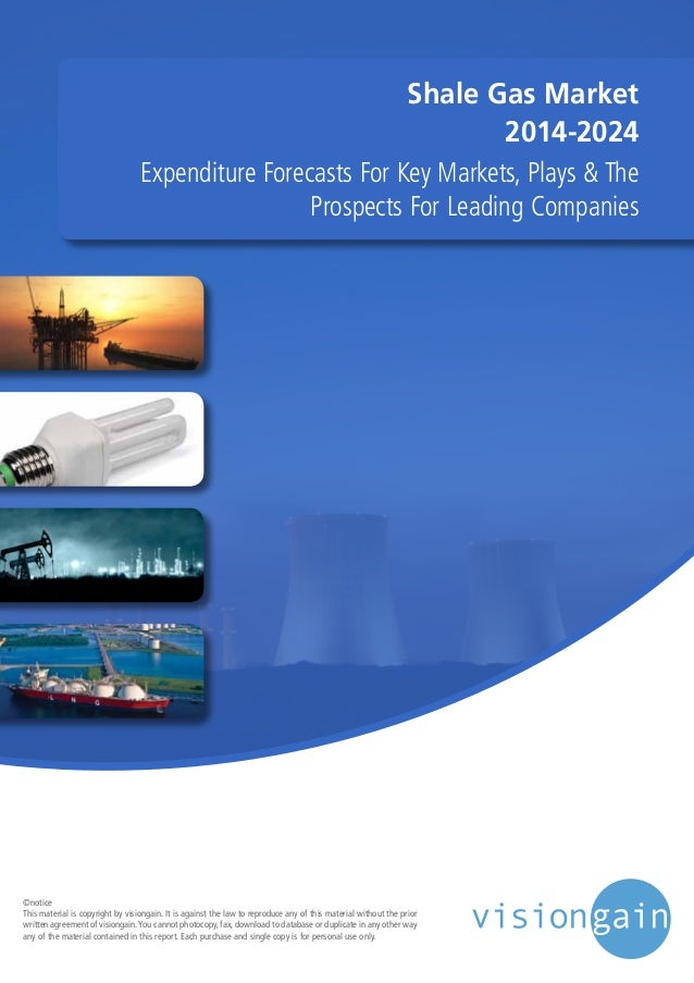 Shale Gas Market  2014-2024  Expenditure Forecasts For Key Markets, Plays & The  Prospects For Leading Companies  ©notice ...
