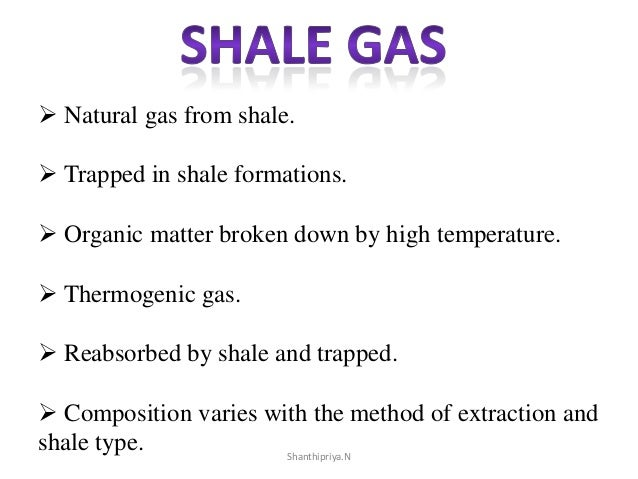 Composition Of Shale Gas And Natural Gas