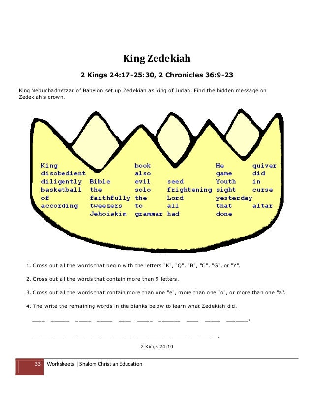 Shalom christian education the books of the old testament worksheets – Learning the Books of the Bible Worksheet