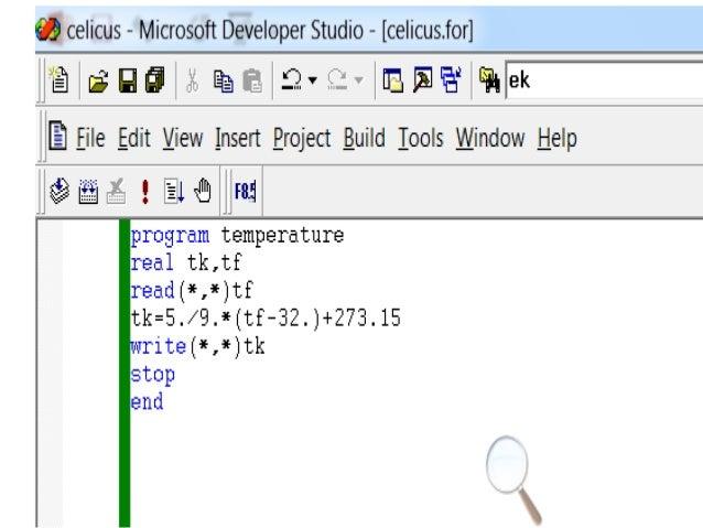 programming fortran 77 Slide02