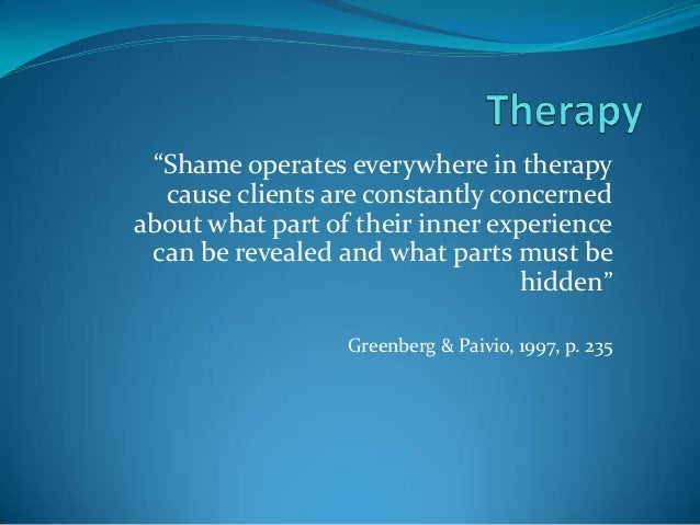 Shame in Dissociative Disorders
