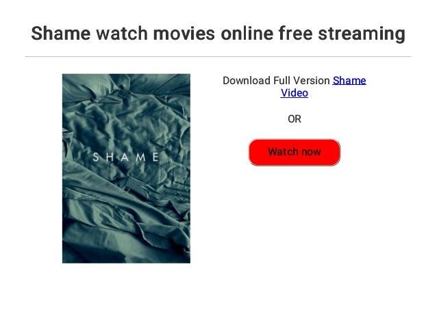 Shame Streaming