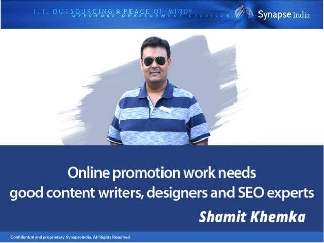 Follow Shamit Khemka On: https://about.me/shamit.khemka shamitkhemkaleadership.blogspot.com/ https://shamit-khemka-leaders...