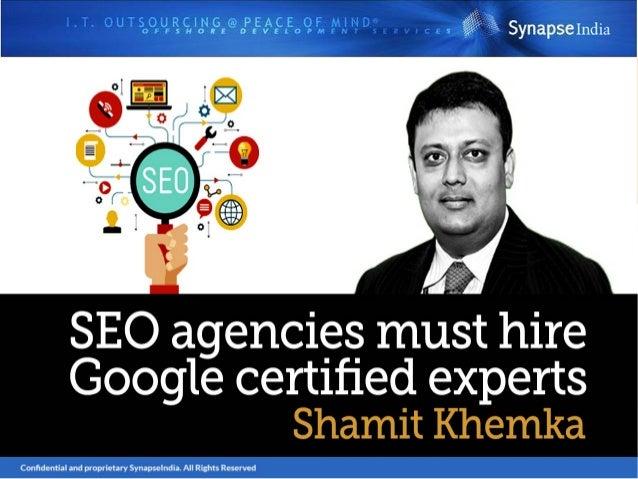 Follow Shamit Khemka On: http://www.shamitkhemka.com/ https://in.linkedin.com/in/shamitkhemka https://shamitkhemkablog.wor...