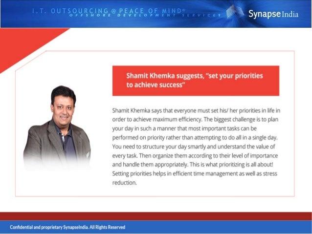 Follow Shamit Khemka On- https://shamit-khemka-entrepreneur.tumblr.com/ https://twitter.com/shamit_khemka https://in.linke...