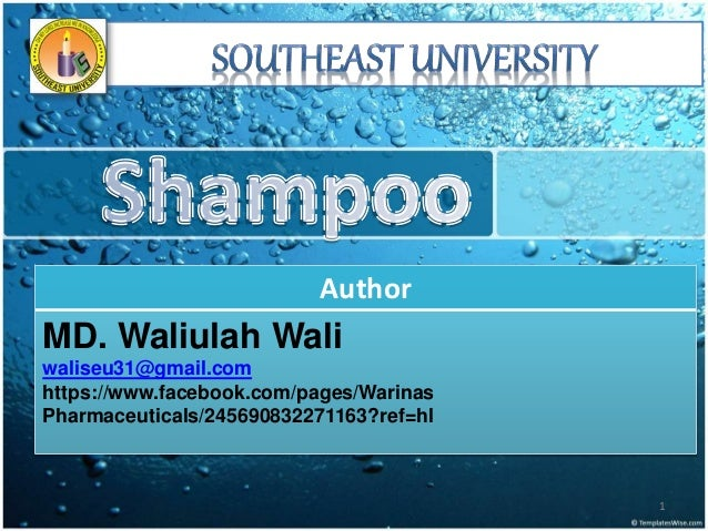 Author MD. Waliulah Wali waliseu31@gmail.com https://www.facebook.com/pages/Warinas Pharmaceuticals/245690832271163?ref=hl...