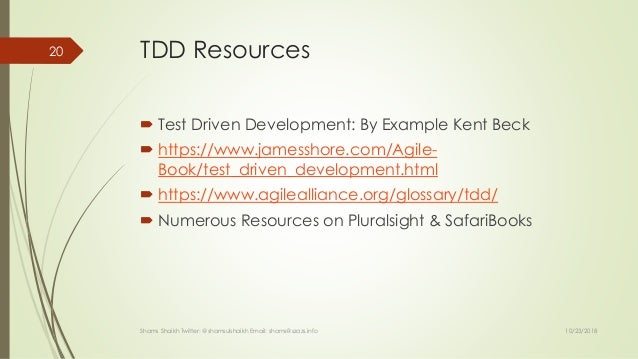 Test First Development in C# using Open Source Tools
