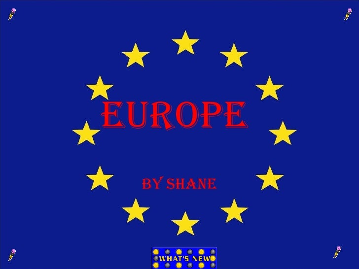 Europe  by Shane