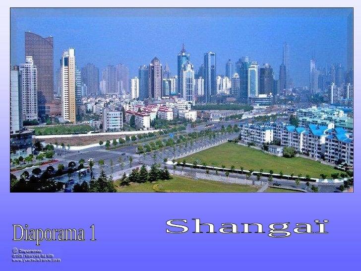 Diaporama 1 Shangaï