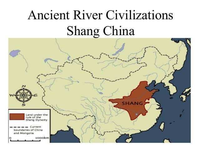 Ancient River Civilizations Shang China