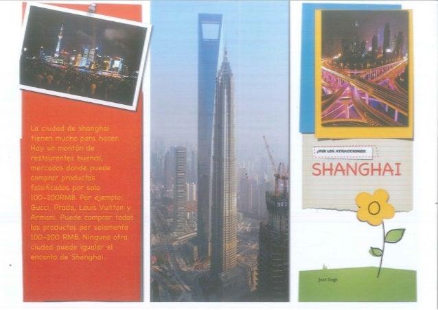 Shanghái - Josh y Claudia