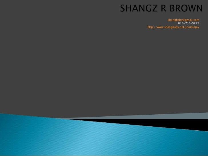 shangbaby@gmail.com                   818-235-9779http://www.shangbaby.net/joomlajoy