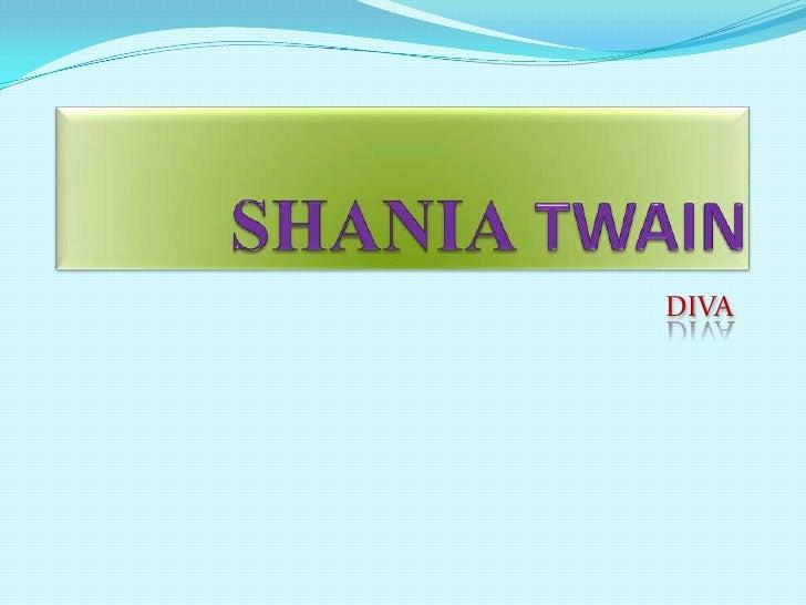 SHANIA TWAIN<br />DIVA<br />