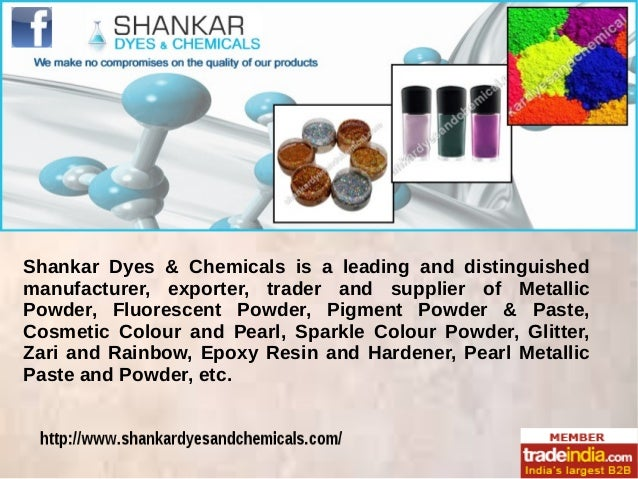 Shankar Dyes & Chemicals is a leading and distinguished manufacturer, exporter, trader and supplier of Metallic Powder, Fl...
