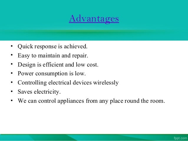 Advantages Of Home Automation bluetooth based home automation