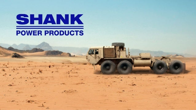 Background: John (Jack) M. Shank (1914-1989) founded Shank Power Products in 1955. Jack's expectations for excellence in s...