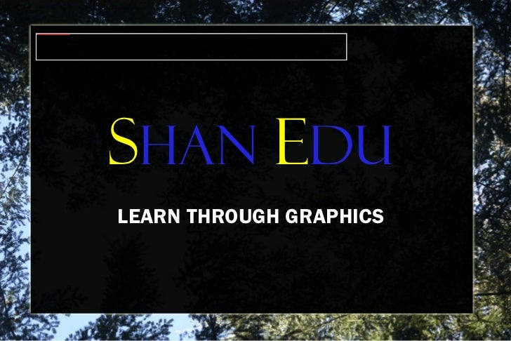 S HAN  E du LEARN THROUGH GRAPHICS