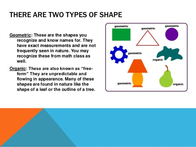 Shape As An Element Of Art : Element of art shape