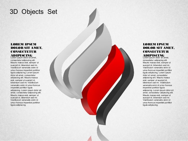 Shaped symbols for powerpoint by poweredtemplatecom for Poweredtemplate