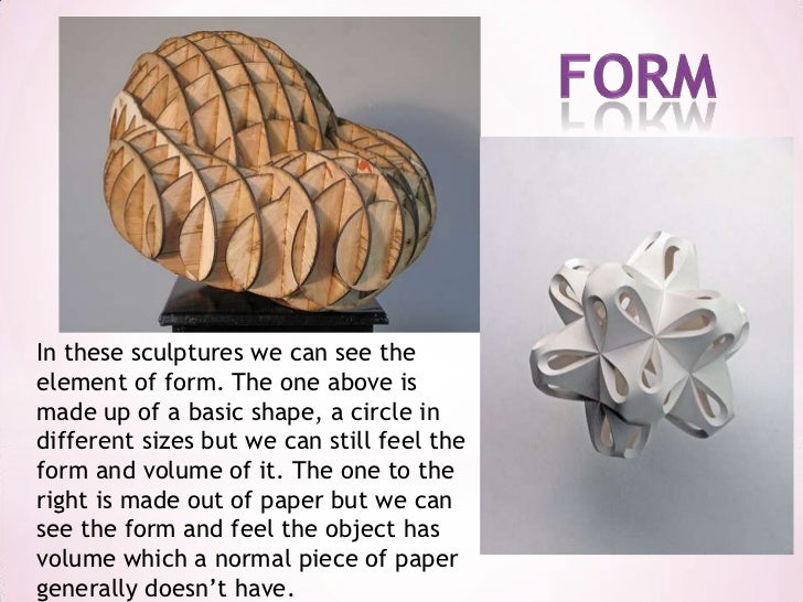 Form Shape And Space : Shape form and space