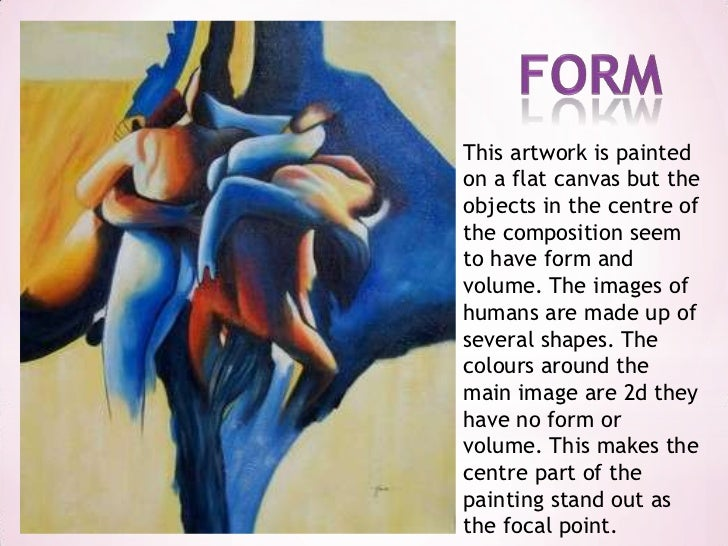 Form And Space In Art : Shape form and space