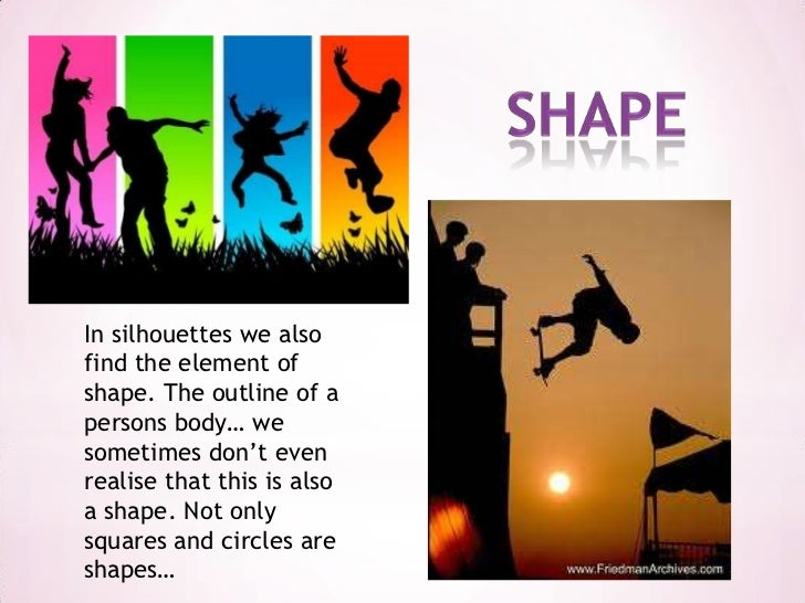 Shape Form And Space In Art : Shape form and space