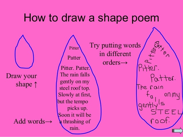 Shape Poems (1